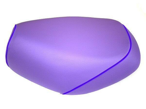 GRONDEMENT グロンドマン その他シートパーツ 国産シートカバー 張替タイプ カラー:パープル/青パイピング アドレス V125 G (CF46) アドレス V125 G (CF4E)