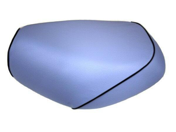 GRONDEMENT グロンドマン その他シートパーツ 国産シートカバー 張替タイプ カラー:ライトブルー/黒パイピング アドレス V125 G (CF46) アドレス V125 G (CF4E)