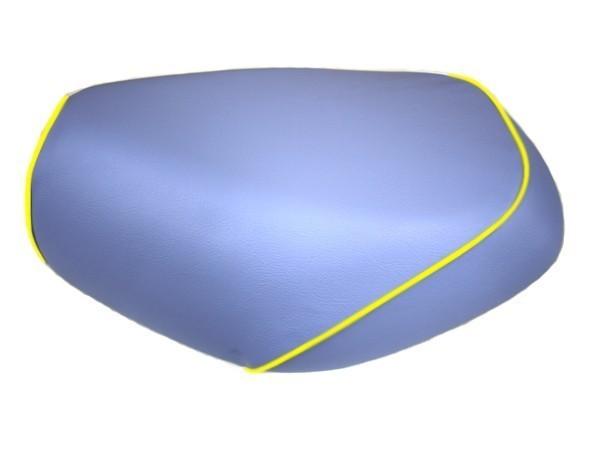 GRONDEMENT グロンドマン その他シートパーツ 国産シートカバー 張替タイプ カラー:ライトブルー/黄色パイピング アドレス V125 G (CF46) アドレス V125 G (CF4E)