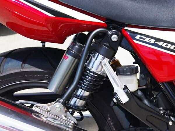 BABYFACE ベビーフェイス マフラーステー類 サイレンサーハンガー カラー:ブラック CB400スーパーフォア