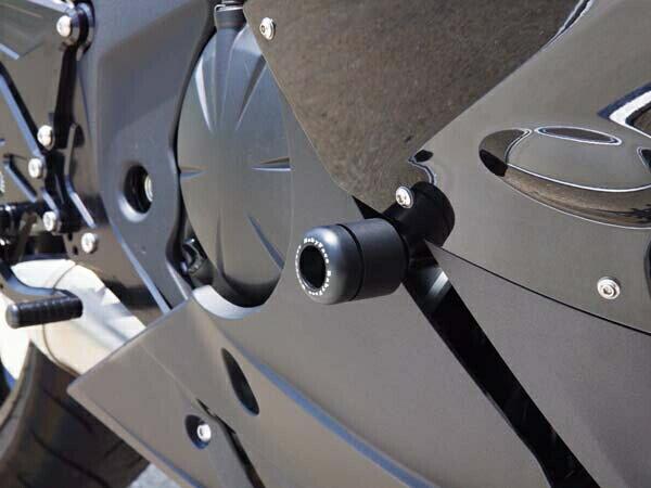 【在庫あり】BABYFACE ベビーフェイス ガード・スライダー フレームスライダー Ninja400R 09-13 Ninja650R/ER6f 09-11