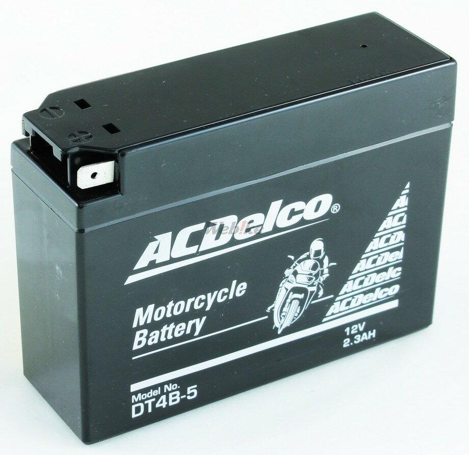 【在庫あり】ACDelco ACデルコ DT4B-5 メンテナンスフリーバッテリー