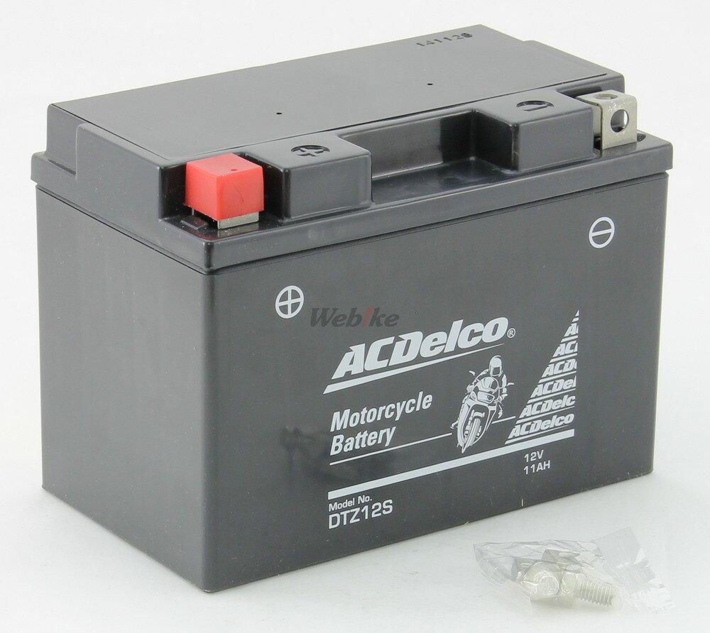 ACDelco ACデルコ DTZ12S メンテナンスフリーバッテリー