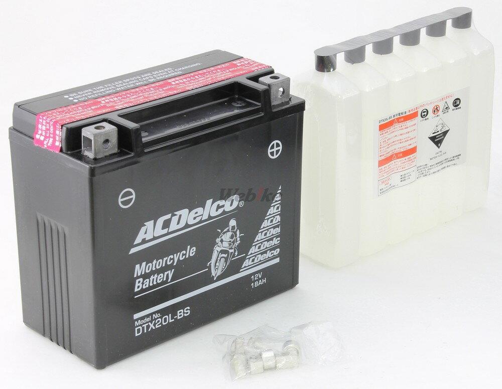 ACDelco ACデルコ DTX20L-BS メンテナンスフリーバッテリー (電解液付属)