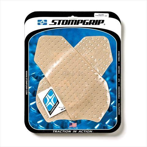 ストンプグリップ STOMPGRIP タンクパッド トラクションパッド ストリートバイクキット カラー:クリア GSX-R600 GSX-R750
