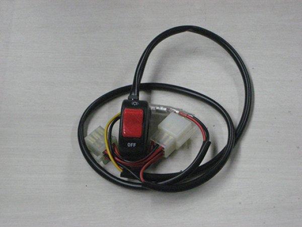 M-SOUL(ムサシ) エムソウル ヘッドライト ON/OFFスイッチ PCX用 PCX ※タイランド並行輸入車、日本国内仕様車、前期型、後期型(ESP)