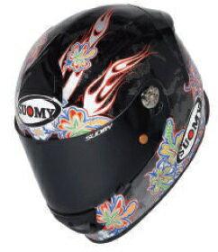 SUOMY スオーミー フルフェイスヘルメット SR-SPORT フラワー ヘルメット サイズ:S(55-56cm)