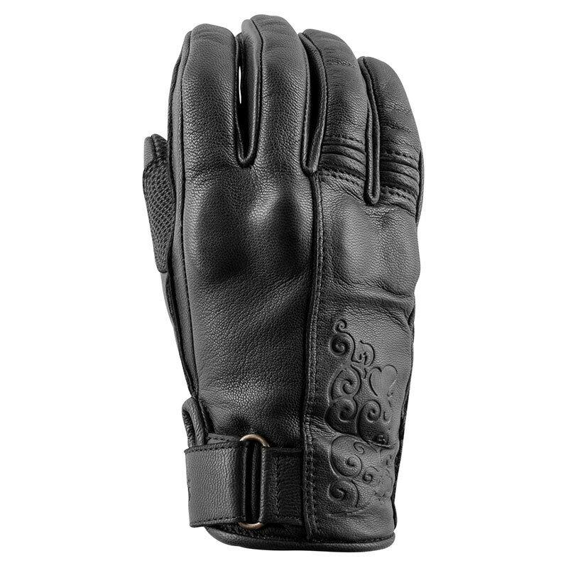 SPEED AND STRENGTH スピードアンドストレングス ブラック・ハート(TM) レザーグローブ【Black Heart(TM) Leather Gloves】 SIZE:WMD