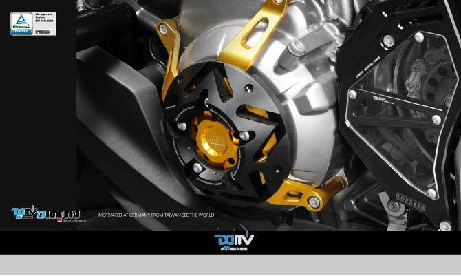 【イベント開催中!】 Dimotiv ディモーティヴ ガード・スライダー エンジンプロテクティブカバー(Engine Protective cover) カラー:チタニウム Ninja1000 Z1000 (水冷)