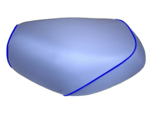 GRONDEMENT グロンドマン その他シートパーツ 国産シートカバー 被せタイプ カラー:ライトブルー/青パイピング アドレス V125 G (CF46) アドレス V125 G (CF4E)