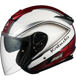 【在庫あり】OGK KABUTO オージーケーカブト ジェットヘルメット ASAGI CLEGANT [アサギ クレガント パールホワイト] ヘルメット サイズ:XL