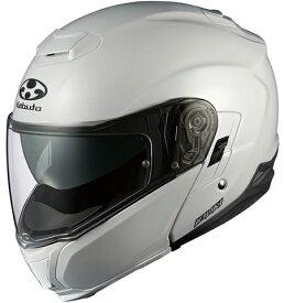【在庫あり】OGK KABUTO オージーケーカブト システムヘルメット IBUKI [イブキ パールホワイト] ヘルメット サイズ:L