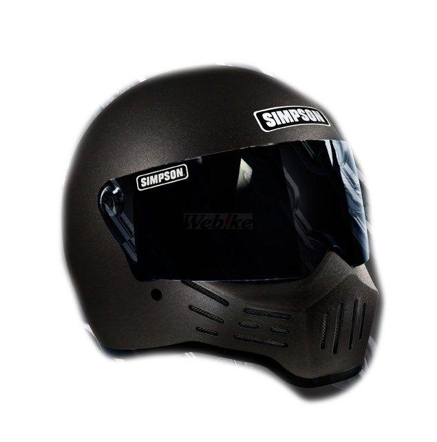 SIMPSON NORIX シンプソンノリックス フルフェイスヘルメット M30ヘルメット サイズ:61cm (7-5/8)