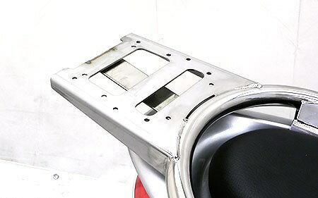 WirusWin ウイルズウィン バックレスト・グラブバー リアボックス用ベースブラケット付きタンデムバー ブライアントタイプ Fino