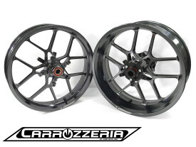 クラスフォーエンジニアリング CLASS4 ホイール本体 Carrozzeria アルミ鍛造軽量ホイール カラー:ブライトゴールドアルマイト ホイールベアリング:標準 ZX14R