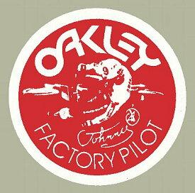 ホーリーエクイップ HollyEquip ステッカー・デカール Oakley Factory Pilot Johnny O デカール