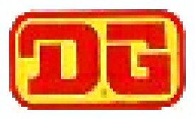 ホーリーエクイップ HollyEquip ステッカー・デカール DG 80s Rectangleデカール カラー:イエロー/レッド