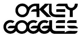 ホーリーエクイップ HollyEquip ステッカー・デカール Oakley Goggles Die Cutデカール