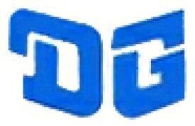 ホーリーエクイップ HollyEquip ステッカー・デカール DG Helmet/Fenderデカール カラー:ブルー (サイズ/109mm×70mm)