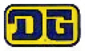 ホーリーエクイップ HollyEquip ステッカー・デカール DG 80s Rectangleデカール カラー:イエロー/ブルー