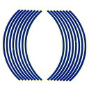 オプティマムセレクション OPTIMUM ステッカー・デカール リムステッカー 17インチ用 ブルー 17インチホイール車