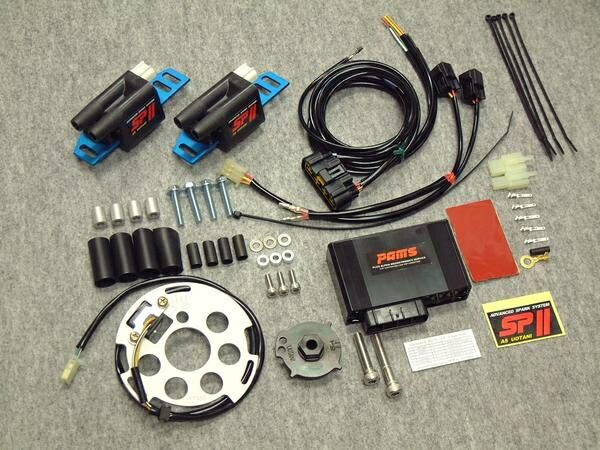 パムス イグニッションコイル・ポイント・イグナイター関連 ASウオタニSP2フルパワーKIT Version PAMS GPz1100 Z1 Z1000 Z1000J Z1000Mk II Z1100 R Z1100GP Z2 Z750 Z900
