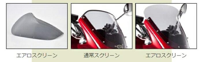 CHICDESIGNシックデザインビキニカウル・バイザーロードコメットカラー:ルミナスビンテージレッド(カラーコード:P5)(単色塗装済み)クリアスクリーンZEPHYR750[ゼファー]/RS