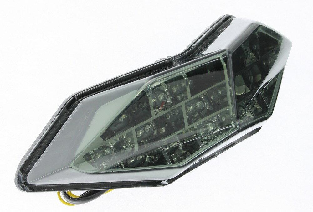 【在庫あり】IMPACT インパクト テールランプ LEDカスタムテールライト ウィンカー機能付き スモークレンズ NINJA250 [ニンジャ250] 13- NINJA300 [ニンジャ300] 13- Z250 13-