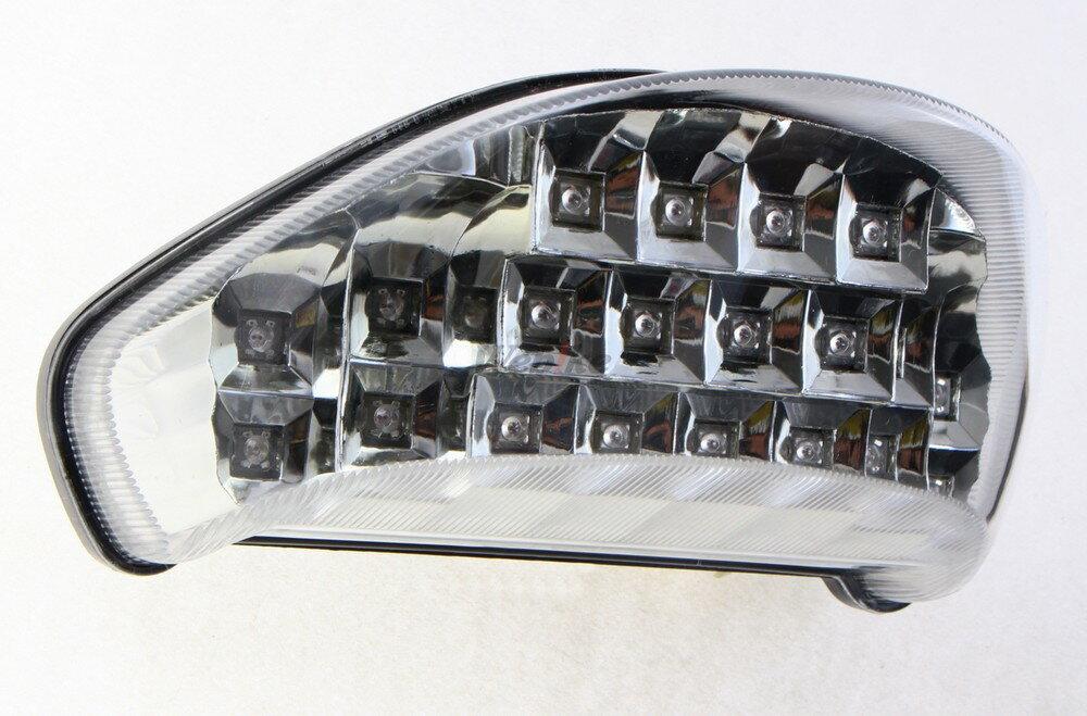 【在庫あり】IMPACT インパクト テールランプ LEDカスタムテールライト ウィンカー機能付き クリアレンズ ZX-12R 00-06