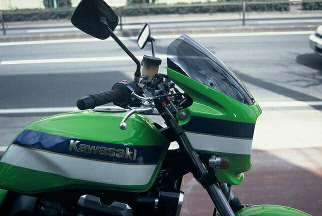 MOTO ZOOM モトズーム ビキニカウル・バイザー ワイドビキニ ZRX1100 ZRX1200
