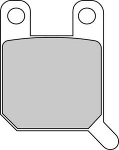 FERODO フェロード ブレーキパッド・シュー プラチナム ブレーキパッド Platinum Compound CLIMBER 280 93- TY 250 Z 93-95
