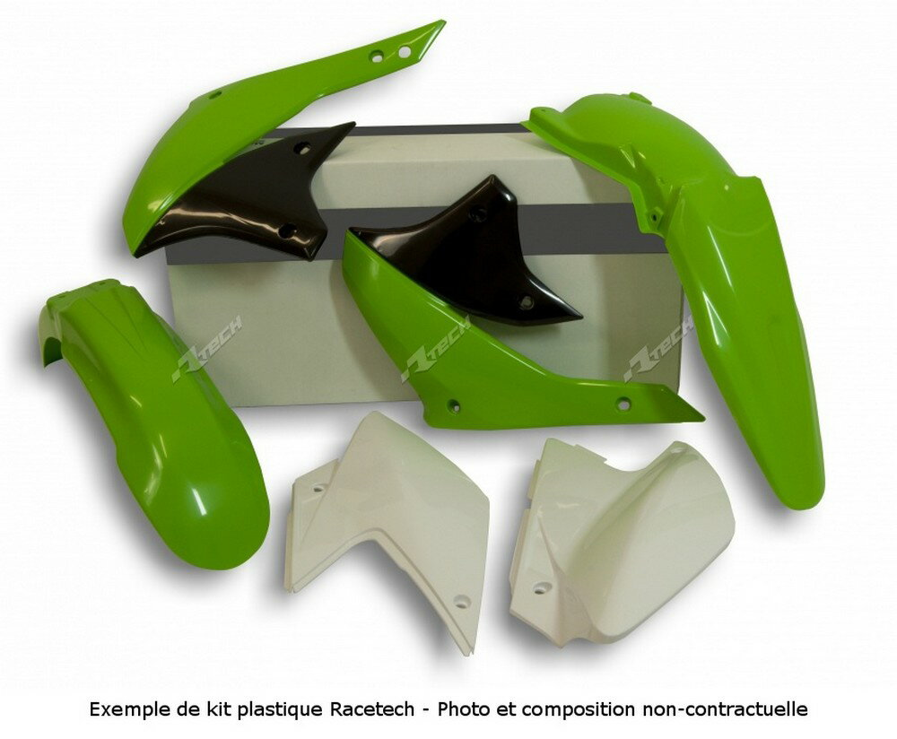 RACETECH レーステック フルカウル・セット外装 【ヨーロッパ直輸入品】Kit Plastiques Color Origin Vert Kawasaki Klx110 KLX110