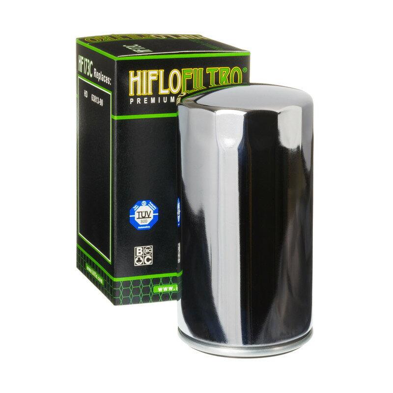 HIFLOFILTRO ハイフローフィルトロ オイルフィルター Oil Filter Chrome Harley Davidson HF173C【ヨーロッパ直輸入品】