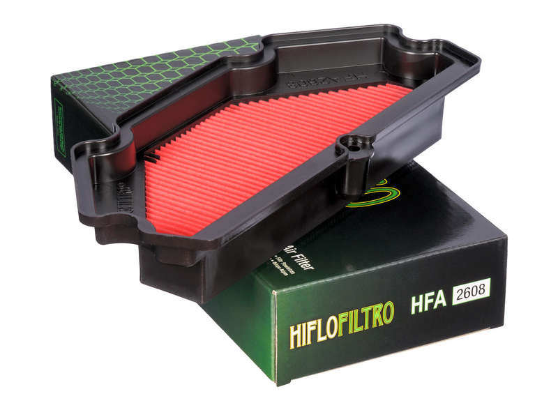 HIFLOFILTRO ハイフローフィルトロ エアクリーナー・エアエレメント Air Filter HFA 2608 Kawasaki ER-6F【ヨーロッパ直輸入品】 ER6F (650) 13-16