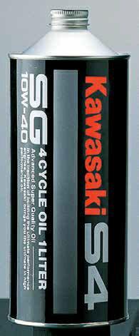 【在庫あり】KAWASAKI カワサキ S4 4サイクルオイル 容量:1リットル缶