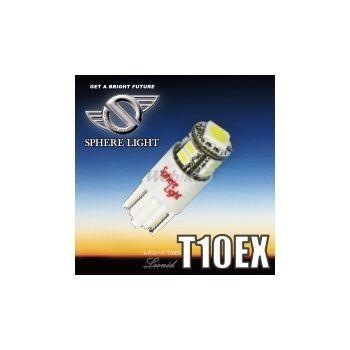 【在庫あり】SPHERE LIGHT その他灯火類 LEDポジション球 LEONID LED T10 EX 【スフィアライト】 入数:1個