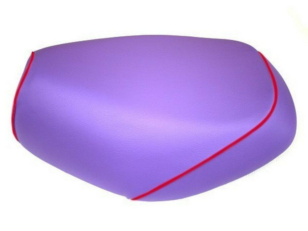 GRONDEMENT グロンドマン その他シートパーツ 国産シートカバー 被せタイプ カラー:パープル/赤パイピング アドレスV125
