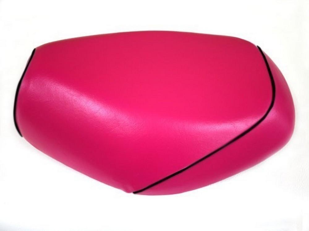 GRONDEMENT グロンドマン その他シートパーツ 国産シートカバー 被せタイプ カラー:ピンク/黒パイピング アドレスV125