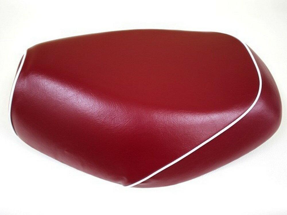 GRONDEMENT グロンドマン その他シートパーツ 国産シートカバー 被せタイプ カラー:ワインレッド/白パイピング アドレスV125