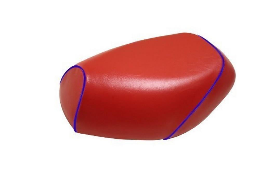 GRONDEMENT グロンドマン その他シートパーツ 国産シートカバー 被せタイプ カラー:赤/青パイピング アドレスV125