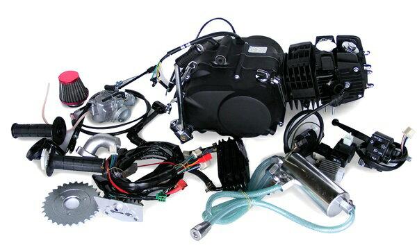 田中商会 TANAKA エンジンCOMP エンジンキット124cc オールキット付き デコンプキット:有り 付属ハーネス:ダックス用 モンキー カブ等横型エンジン搭載車