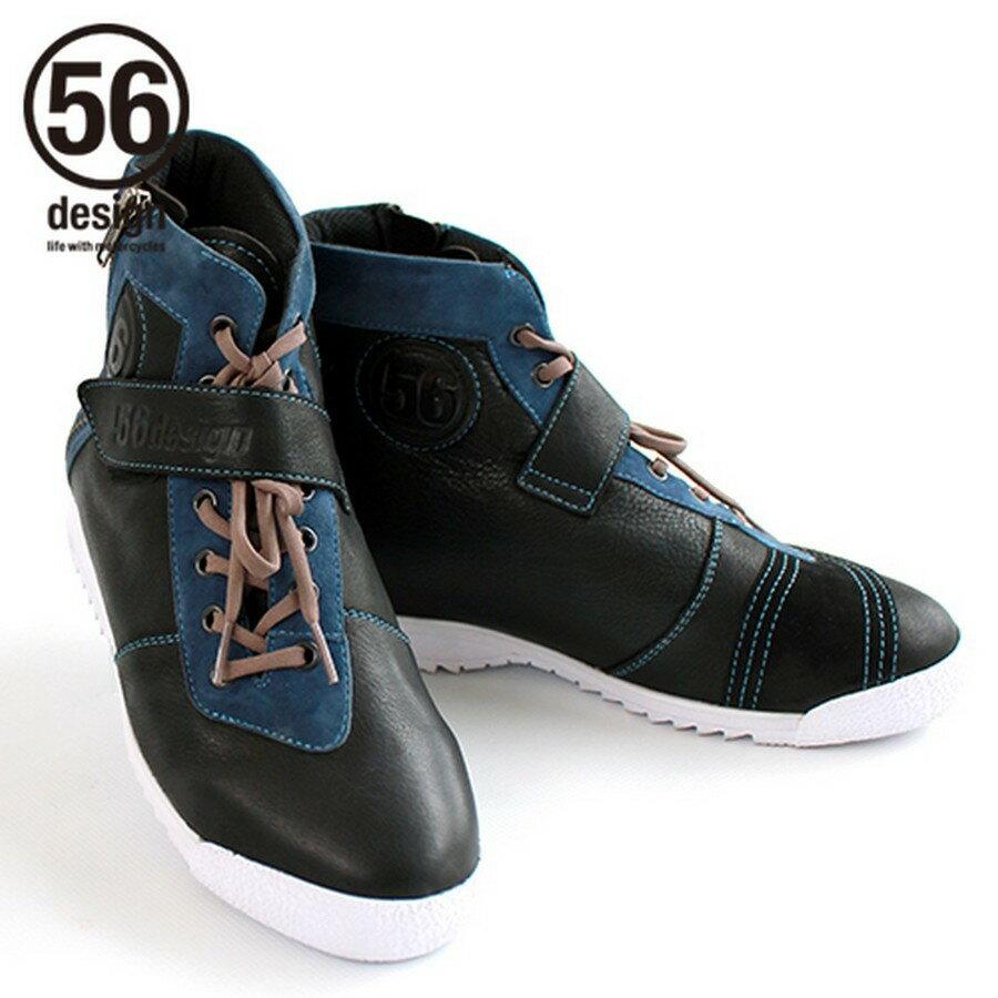56design 56デザイン Leather Riding Shoes [レザー ライディング シューズ] サイズ:L(27.0-27.5cm)