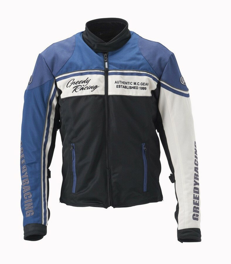 GREEDY グリーディー スポーツライディング メッシュジャケット サイズ:BIG