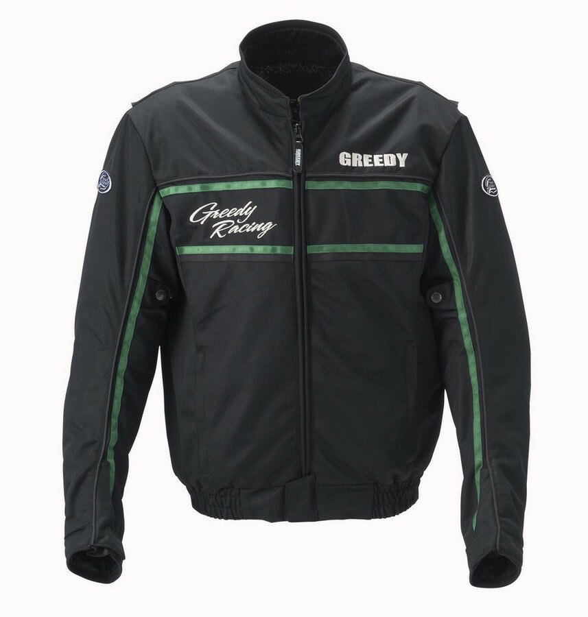 GREEDY グリーディー メッシュジャケット ツーリングスタイル メッシュブルゾン サイズ:3L