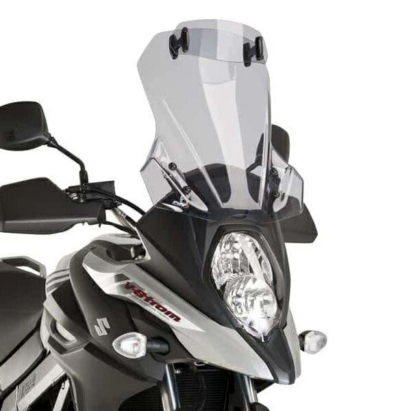 Puig プーチ ツーリングスクリーン バイザー付き DL650 V-STROM 17-