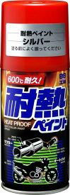 【在庫あり】【イベント開催中!】 SOFT99 ソフト99 スプレータイプ塗料 99工房 耐熱ペイント カラー:シルバー