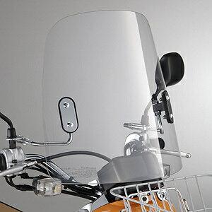 YAMAHA ヤマハ ワイズギア スクーター外装 ウインドシールド VOX (適応機種コード:3B31/3B34/3B35/3B3A/3B3D/3B3E)