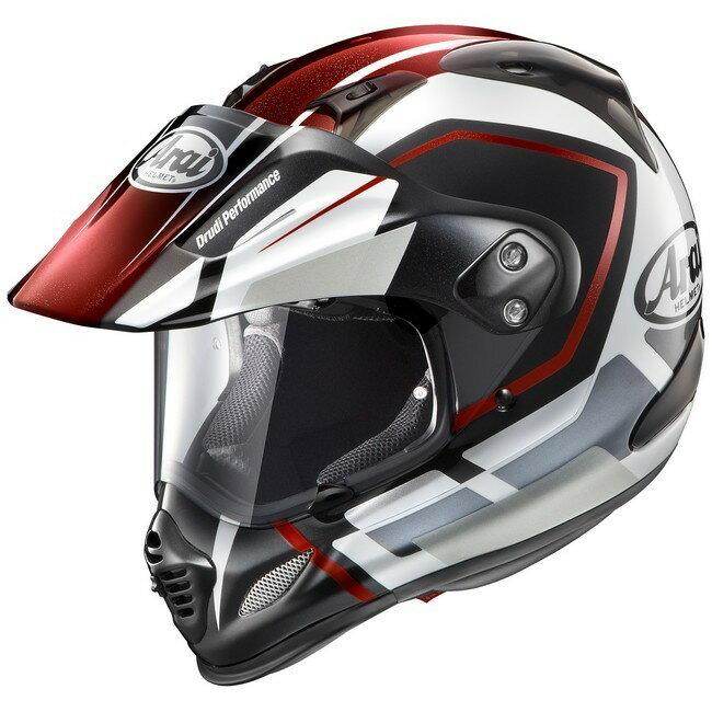 【在庫あり】Arai アライ オフロードヘルメット TOUR-CROSS3 DETOUR [ツアークロス3 デツアー 赤] ヘルメット サイズ:Mサイズ:M(57-58cm)