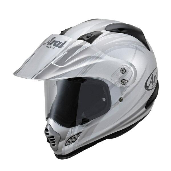 Arai アライ オフロードヘルメット TOUR-CROSS3 CONTRAST [ツアークロス3 コントラスト シルバー] ヘルメット サイズ:M(57-58cm)