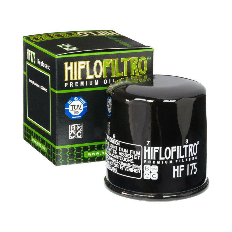 HIFLOFILTRO ハイフローフィルトロ オイルフィルター Oil Filter HF175 Harley Davidson Street 750【ヨーロッパ直輸入品】 STREET 750 (750) 15-16